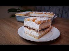 Υπέροχο γλυκό με μπισκότα κρέμα τυριού και μαρμελάδα φράουλα!!! - YouTube Greek Recipes, Tiramisu, Cake, Ethnic Recipes, Desserts, Youtube, Food, Tailgate Desserts, Deserts