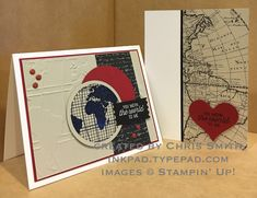 Going Global Duo by inkpad - Cards and Paper Crafts at Splitcoaststampers