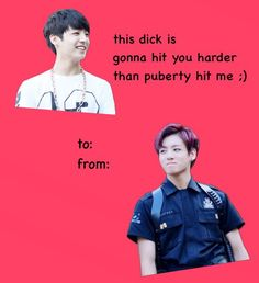 344 Best K Pop Valentine S Cards Images On Pinterest Valentine