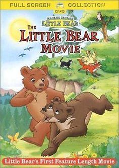 Little Bear Movie  DVD Kristin Fairlie, Dan Hennessey, Janet-Laine Green, Max Mo