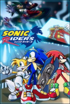 omg,maybe more older was an old work that I've forgotten too longXP This is a poster of SonicRiders in SX(sonic X)style,mo. Sonic Riders:Starts of heroes: Sonic The Hedgehog, Hedgehog Movie, Game Sonic, Sonic 3, Sonic Free Riders, Evil Geniuses, Color Games, Fate Stay Night, Fantastic Art