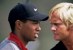 Why Tiger Woods may never win as many majors as the great Jack Nicklaus. Jack Nicklaus, Tiger Woods, Rugby, Champion, Baseball Hats, Soccer, Golf, Football, History