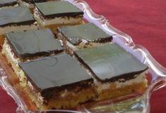 Habos piskóta Hungarian Recipes, Cookie Desserts, Cake Cookies, Tiramisu, Cheesecake, Deserts, Muffin, Pie, Sweets