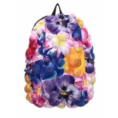 Madpax backpacks are totally cool girls school backpacks & accessories. This funky girls backpack features lots of pockets & a flower power bubble design. Backpack Bags, Drawstring Backpack, Fashion Backpack, Urban Movies, Polyester Spandex Fabric, Building For Kids, Cool Backpacks, All Brands, Gifts For Girls