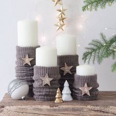 Advent wreath-just-out-candles - interior design ideas - adventskranz-only cand. Advent wreath-just-out-candles – interior design ideas – adventskranz-only candles off – Simple Christmas, Christmas Time, Christmas Crafts, Xmas, Christmas Ornaments, Holiday, Christmas Wreaths, Navidad Simple, Navidad Diy