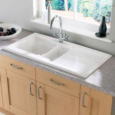 Blanco Setura 1.5 Bowl Ceramic Sink & LH Drainer B&Q   Stuff to Buy ...