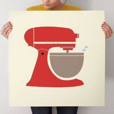 Vintage Kitchen Mixer, from $23 at Minted