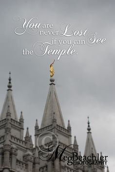 Original Fine Art Print Print Name: You Are Never Lost Location: Salt Lake City LDS Temple
