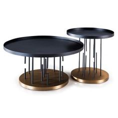 Teca Table, Set of 2
