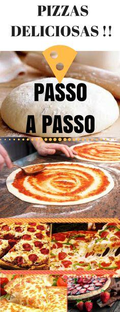 APRENDA OS SEGREDOS DOS PIZZAIOLOS ! Passo a Passo Das pizzas Perfeitas  , vídeo aulas incríveis que ensinam TUDO  que um PIZZAIOLO  de SUCESSO SABE! #pizza #receita #massa #recheio #aula Comida Pizza, Brazil Food, Pizza Cones, Tasty, Yummy Food, Calzone, Pizza Hut, Fun Cooking, Copycat Recipes