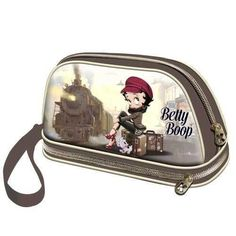 Bolsa de aseo Betty Boop modelo Train