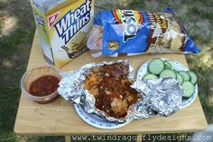 Campfire Dip..Serve with vegetables, crackers and tortilla chips.