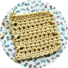 Crochet Corner: STITCH DIRECTORY . Half Treble Crochet (htr) USA term: Half Double Crochet (hdc)