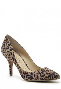 Giovanna Leopard Print Heel