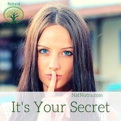 😘It's Your #Secret! #organic #health #natural