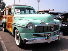 1948 Mercury Station Wagon..Re-pin brought to you by agents of #carinsurance at #houseofinsurance in Eugene, Oregon