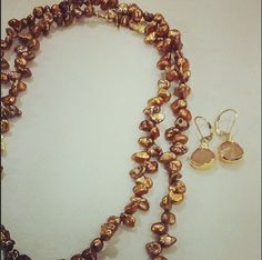 loves matching colors, looking stunning in tones. Looking Stunning, Bronze, Autumn, Chain, Colors, Bracelets, Gold, Jewelry, Fashion