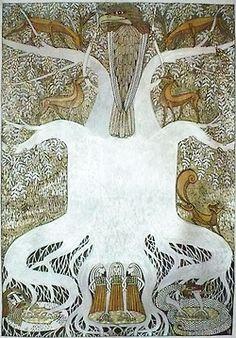Yggdrasill by Helena Rosova.