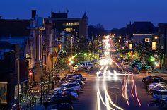 Mass Street. Flickr: University of Kansas.