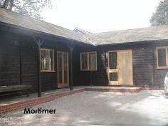 A Phoenix Garden Office in Mortimer by Phoenix Timber Buildings