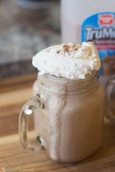 A delicious frozen Mexican hot chocolate recipe - it can be served hot as well!