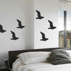 Seagull Bird Wall Decals | Trendy Wall Designs