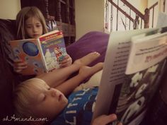 A Tale of Two (or Three) Stories ( check out the comments section for TONS of great ideas for chapter books for Gr. 1-3 age!)