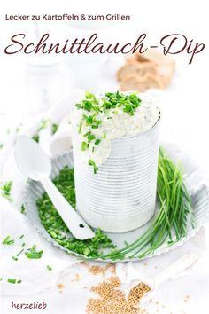 Leckerer Schnittlauch-Dip mit Senf