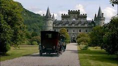 """3/26/14  10:10p  """"Downton Abbey"""" The destination  for the Crawley's is Cousin Hugh 'Shrimpie' MacClare, Marquess of Flintshire's estate Duneagle in Scotland.  Heard tell of him in season two when Violet, Dowager Countess of Grantham placed a phone call to him at the War Office when Matthew had gone missing during combat. He is a diplomat and her cousin by marriage through her niece Susan, daughter of her sister. The MacClare's are the parents of young Rose, the flapper we met in episode six."""