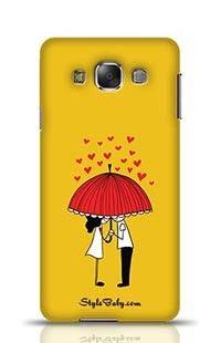 Love Couple Samsung Galaxy E7 Phone Case
