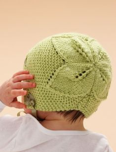 Free download- Leaf and Lace Set- Hat, Sweater & Booties | Yarnspirations