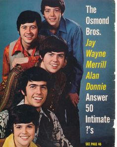 young Osmonds