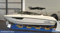 Flipper 640 DC  #interboot 2016 #flipperboats  🌊 Schweizer Bootshändler Caminadawerft für Neu- und Gebrauchtbode
