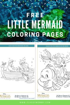 Do your kids LOVE free coloring pages? We've got OVER 500 Free Printable Disney Coloring Pages! I love surprising my kids with free printable activity shee Free Disney Coloring Pages, Mermaid Coloring Pages, Free Printable Coloring Pages, Coloring Pages For Kids, Disney Printables, Free Printables, Doc Mcstuffins Coloring Pages, Love Is Free, The Little Mermaid