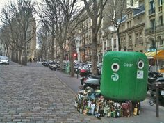 Parisians sure love their wine!