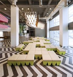 Bangkok University lounge by supermachine studio architecture 4 - from TheCoolList