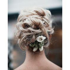 Coiffure mariée long cheveux