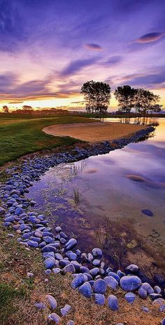 The Clearwater Golf Club near Christchurch International Airport, New Zealand • photo: Sebastien Krebs on Flickr