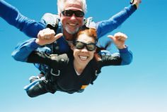 Me skydiving on my 28th Bday