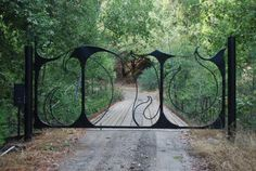 Gate/ Monica Coyne~ Blacksmith