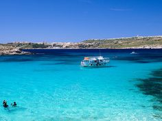 The Blue Lagoon, Gozo.  │ #gozo gozovillarentals.com