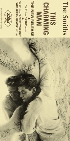 The Smiths Promo Poster Collection: This Charming Man Cover Star: Jean Marais from Cocteau's film Orpheus
