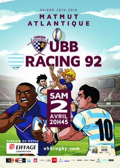 UBB - Racing 92, samedi 2 avril, 20h45