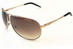 CARRERA GIPSY/S Sunglasses GIPSYS Gold Semi Shiny MWM-YY Frame Carrera. $88.99