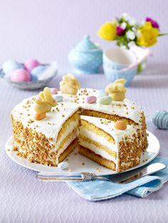 So lecker! Rübli-Torte mit Zitronencreme