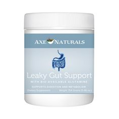 Leaky Gut Support Supplement I add this to my morning smoothie daily! It's essential to proactively take care of your gut and body! http://www.draxe.com #health #holistic #natural #supplement