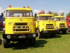 1973-  DAF AZ 1900 6x6, 1974 DAF V 1600 4x4, 1965 DAF V 1600 4x4