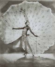 Dolores as The White Peacock in Ziegfeld Midnight Frolic. (1919)