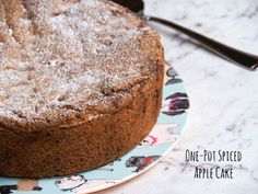 Annabel Langbein's One-Pot Spiced Apple Cake   The Annoyed Thyroid Healthy Apple Cake, Vegan Apple Cake, Moist Apple Cake, Easy Apple Cake, Apple Cake Recipes, Cookie Recipes, Dessert Recipes, Bbc Good Food Recipes, Sweet Recipes