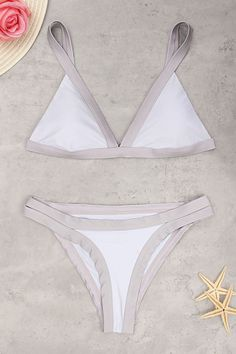 b87308186da96 Sexy Bodycon Bikini Set Beach Swimwear in White Sporty Swimwear, Swimwear  Fashion, Bikini Fashion